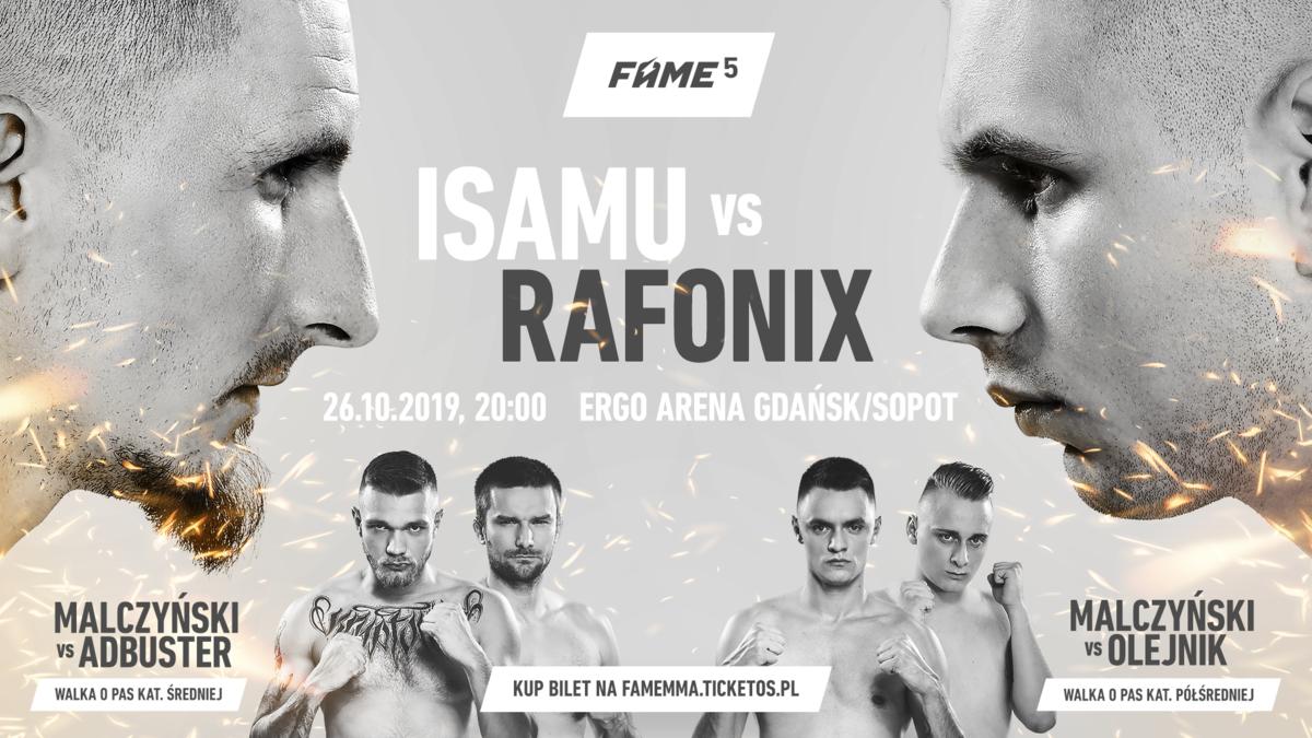wydarzenie FAME MMA 5
